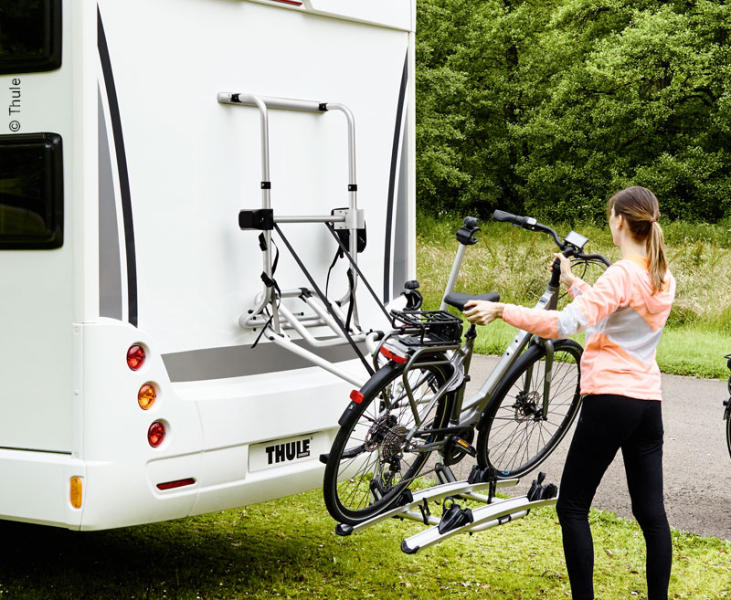 Bicycle rack Thule Lift V16 engine 12V f 2 bicycles up to