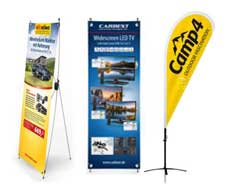 Materiale POS - banner, bandiere